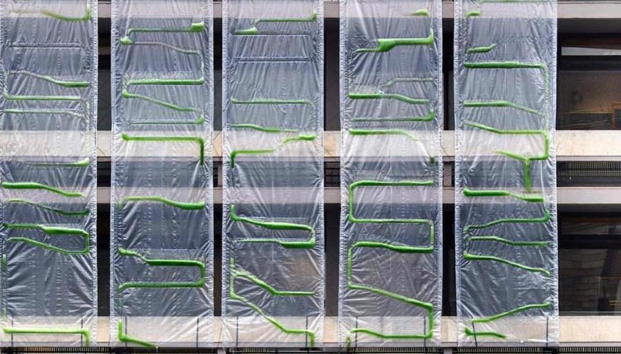 Algae curtains ecoLogic studio
