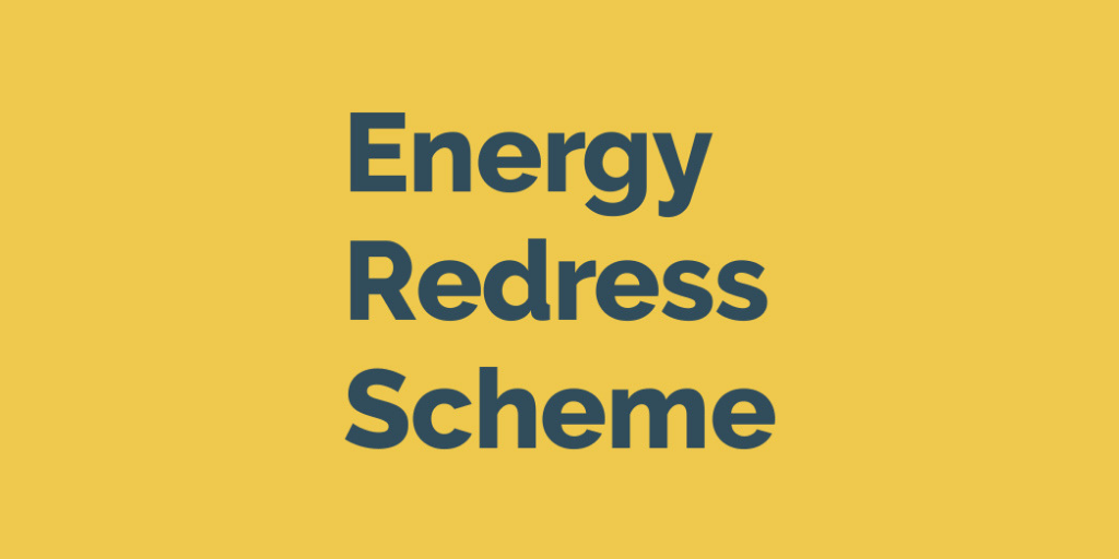 Energy Redress Scheme logo