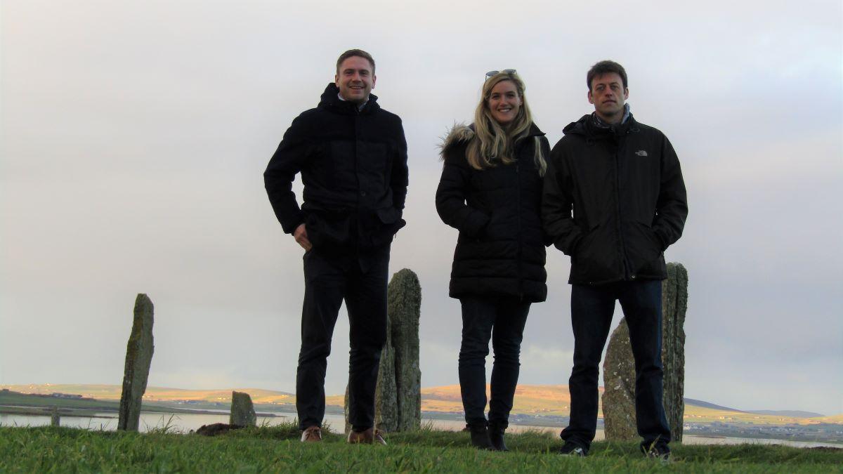 Ross Kirkland, Silvia Manzoni and Iain MacLeod from Energy Saving Trust