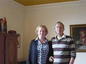 Simon Burton and partner