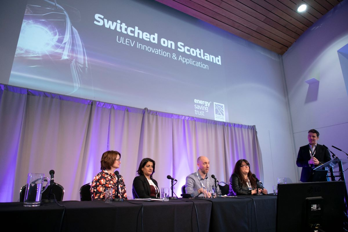 Switched on Scotland panel