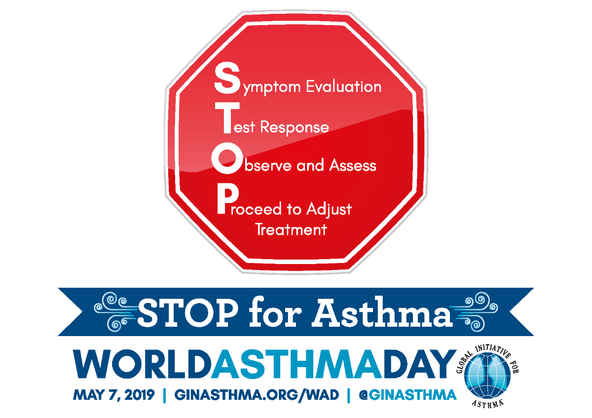 World Asthma Day Logo 2019