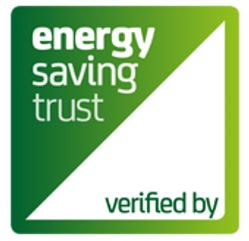 Verified by Energy Saving Trust brandmark