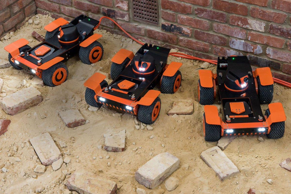 Q Bot insulation sprayers