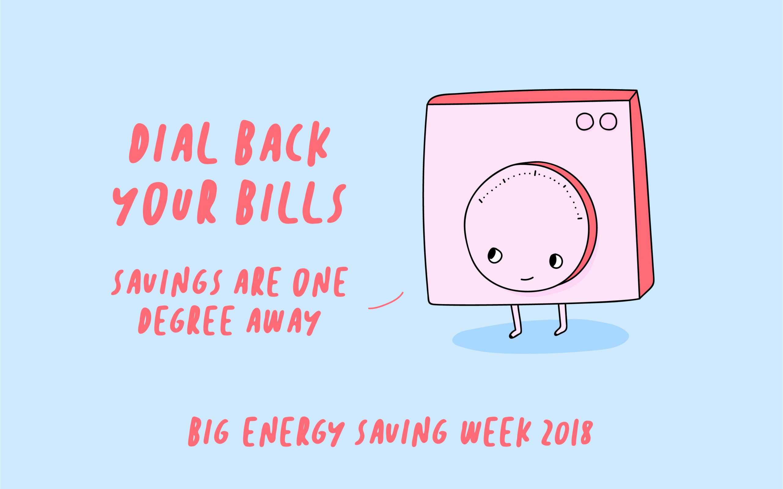 dial back on bills thermostat for big energy saving week