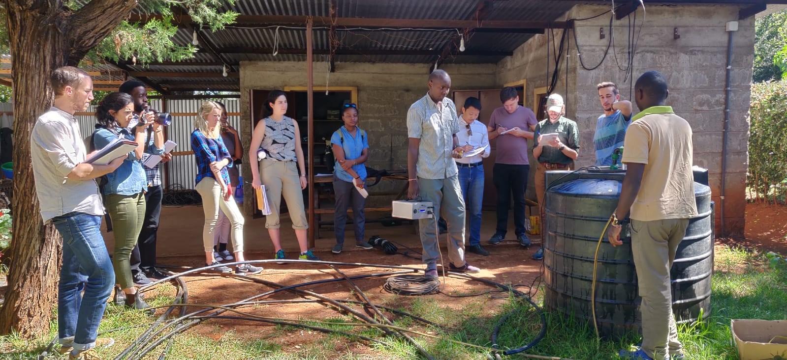 EforA team in Kenya